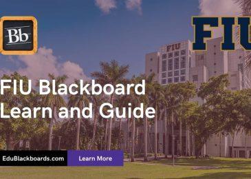 FIU Blackboard | FIU CANVAS | Learn & Login Guide