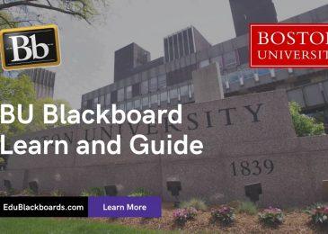 BU Blackboard Learn & Login Guide