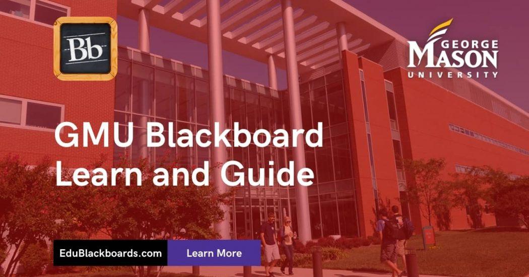 GMU Blackboard Learn & Login Guide