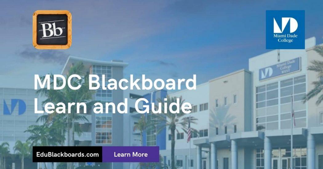 MDC Blackboard Learn & Login Guide