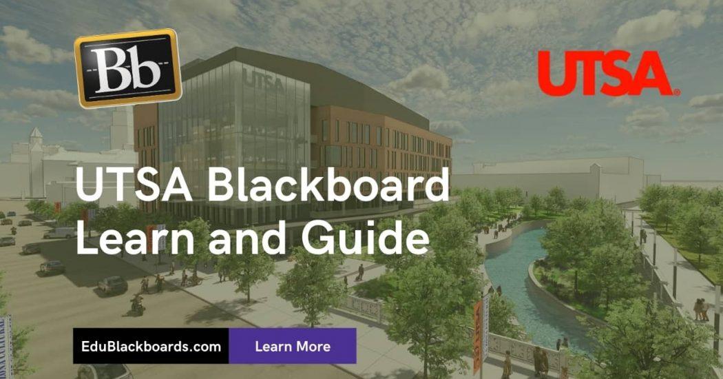 UTSA Blackboard Learn & Login Guide